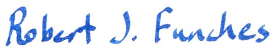 "Signature ""Robert J. Funches"""